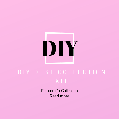 DIY debt collection kit - for one collection